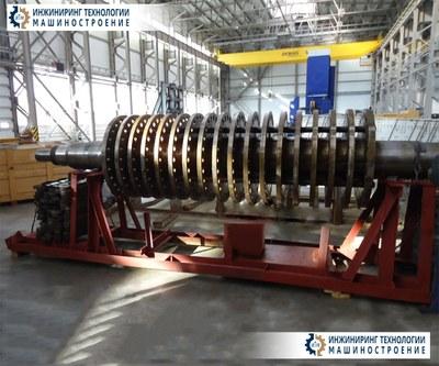 Вал ротора с дисками черт.№ 3Бу62.15И-0СБ